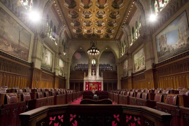 Il semble que plusieurs sénateurs ne soient pas... (PHOTO LA PRESSE CANADIENNE/ADRIAN WYLD)