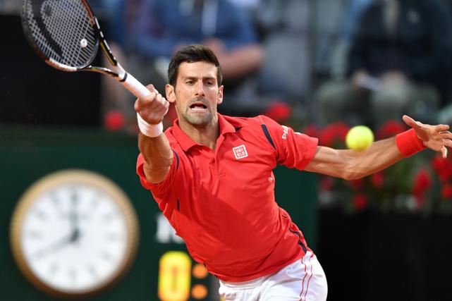 Novak Djokovic a défaitThomaz Bellucci en trois manches... (Photo Tiziana Fabi, AFP)