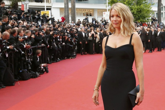 Virginie Efira à la projection de Café Society... (PHOTO AFP)