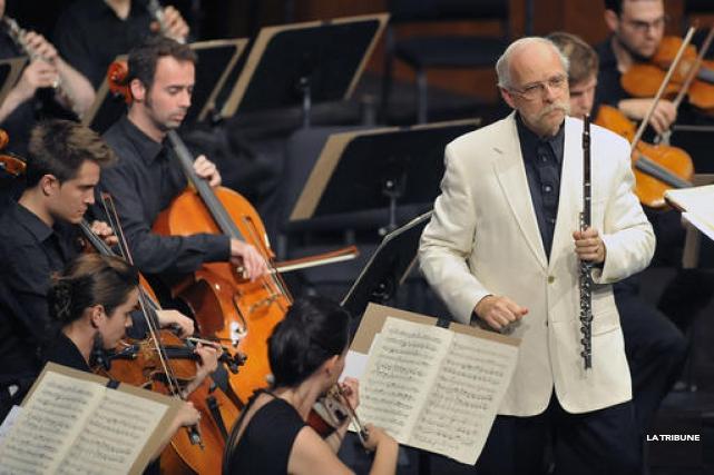 Voilà quatorze ans que Robert Langevin n'avait pas été invité par l'Orchestre... (La Tribune, archives)