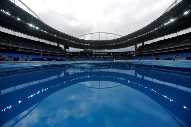 Le Stade olympique de Rio... (Photo Ricardo Moraes, Reuters)