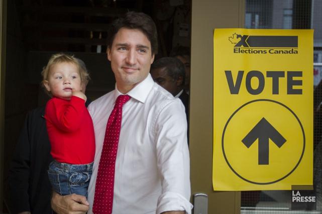 Lorsque Justin Trudeau a inscrit la réforme du... (Archives, La Presse)