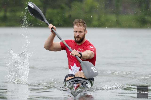 Le kayakiste sherbrookois Philippe Duchesneau a raté sa... (Archives, La Tribune)