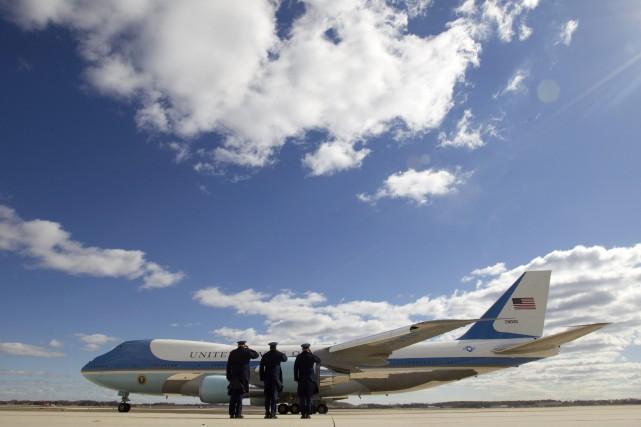 Labase aérienne militaire d'Andrews est entre autres le... (Photo Jose Luis Magana, Archives AFP)