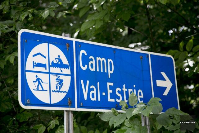 La suspension des activités estivales du Camp Val-Estrie... (Archives, La Tribune)