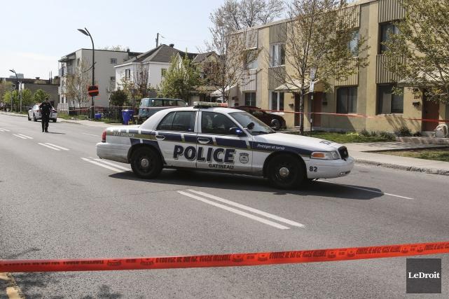 Le boulevard des Allumettières est demeuré fermé à... (Patrick Woodbury, LeDroit)