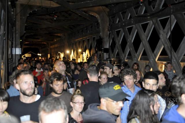 L'édition 2015 de la Nuit du pont couvert... (M. Rousso)
