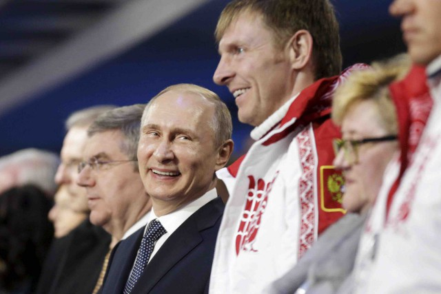 La Russie de Vladimir Poutine a terminé au... (Archives AP, David Goldman)