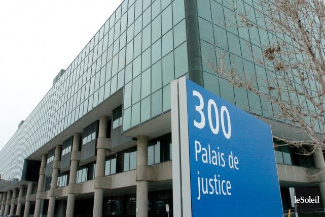 Le palais de Justice, à Québec.... (Photothèque Le Soleil, Erick Labbé)