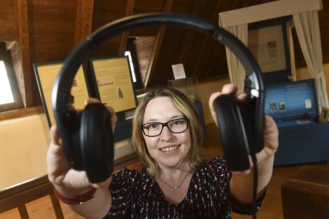 Julie Désaulniers, coordonnatrice à la diffusion du Patrimoine... (François Gervais)