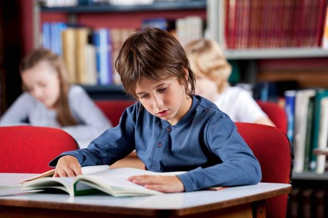 CHRONIQUE / Quand on apprend que la majorité des garçons québécois lisent peu... (123RF/Tyler Olson)