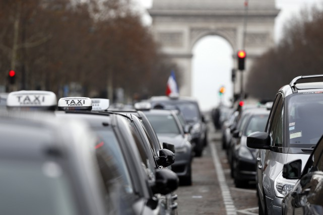 La cour d'appel de Paris a confirmé mercredi la condamnation d'Uber France à... (Archives AFP, Thomas Samson)