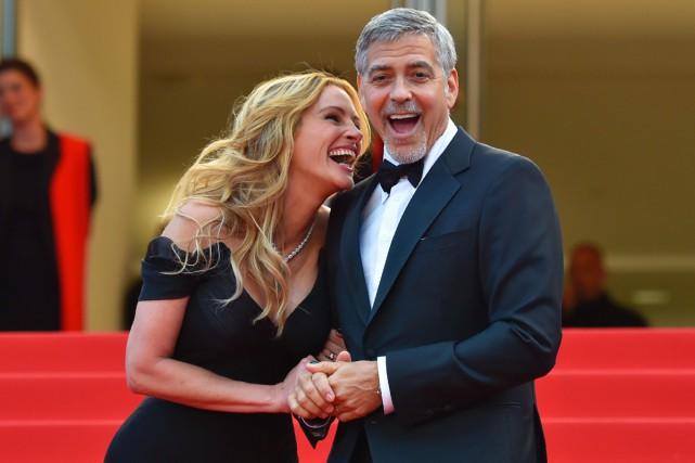 Julia Roberts, qui partage la vedette avec George... (PHOTO AFP)