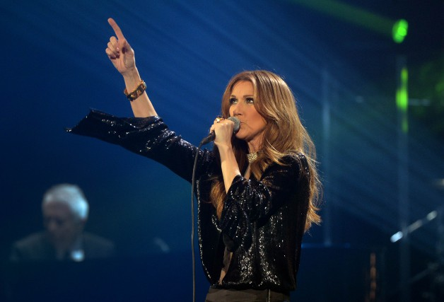 La chanteuse Céline Dion... (PHOTO ARCHIVES AFP)