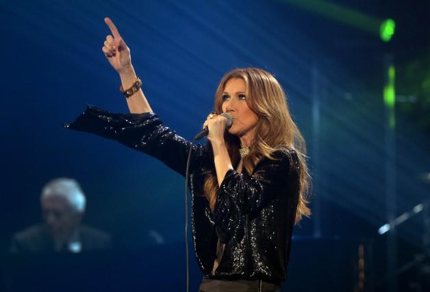 La chanteuseCéline Dion... (PHOTO ARCHIVES AFP)