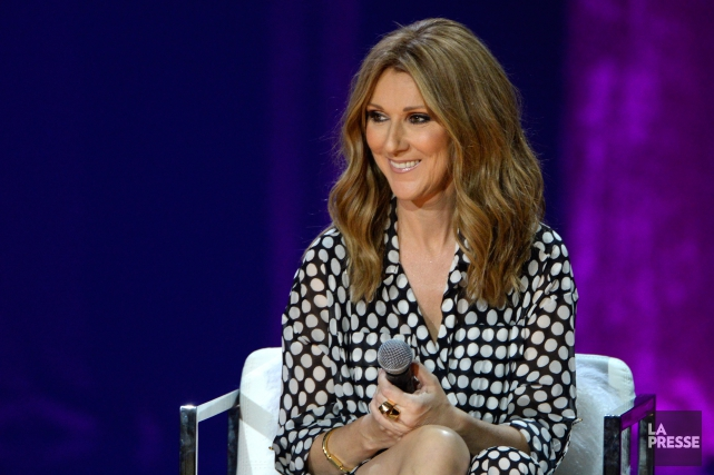 La chanteuse Céline Dion... (Photo Bernard Brault, archives La Presse)