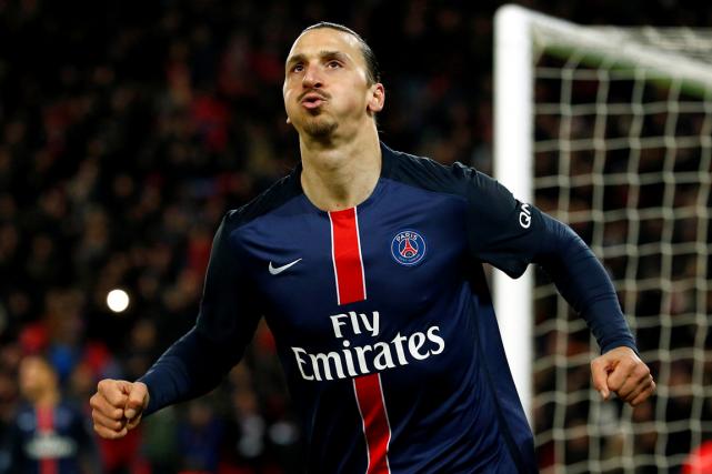 Avec le PSG, Zlatan Ibrahimovica notamment été quatre... (Photo Benoit Tessier, archives Reuters)