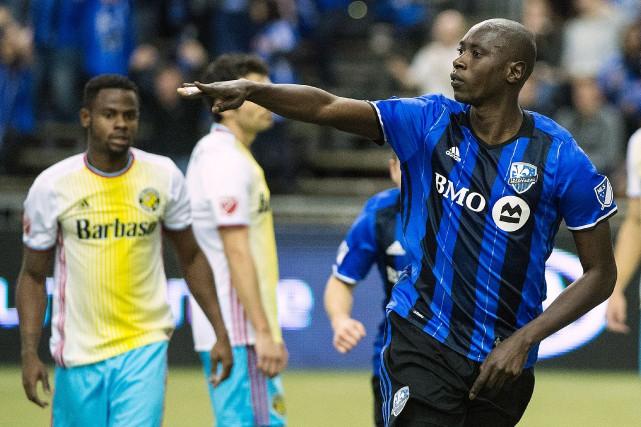 Hassoun Camara pourrait être de retour au jeu... (photoGraham Hughes, archives la presse canadienne)