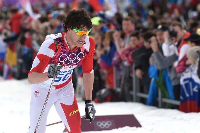 Alex Harveyest presque certain que des skieurs d'autres... (Photo Bernard Brault, archives La Presse)