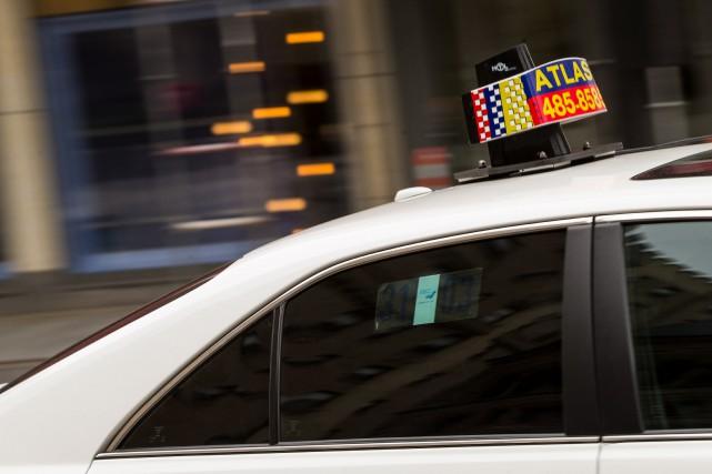 Le projet de loi sur le taxi aurait... (PHOTO HUGO-SéBASTIEN AUBERT, archives LA PRESSE)