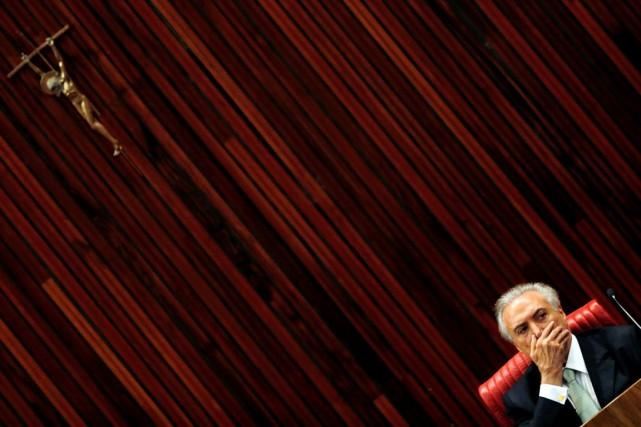 «Nous avons peu de temps», a prévenu Michel... (PHOTO PAULO WHITAKER, REUTERS)
