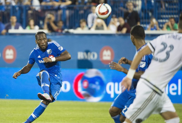 Coincé dans une séquence de quatre matchs sans victoire, l'Impact de Montréal... (Photo archives La Presse Canadienne)