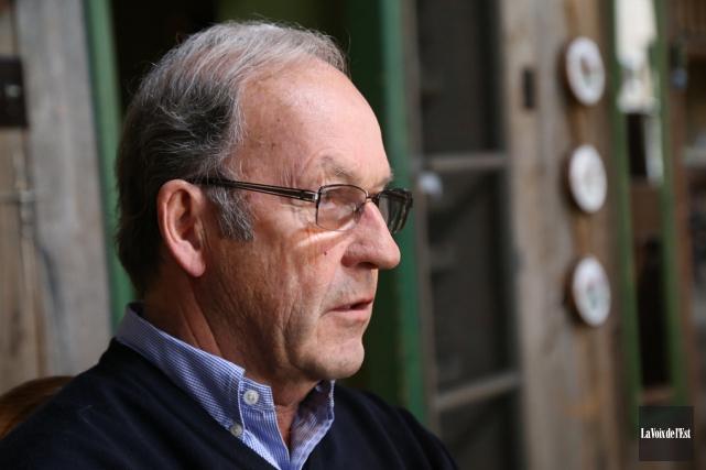 Le président de la SACS, Marcel Bundock.... (Janick Marois, La Voix de l'Est)