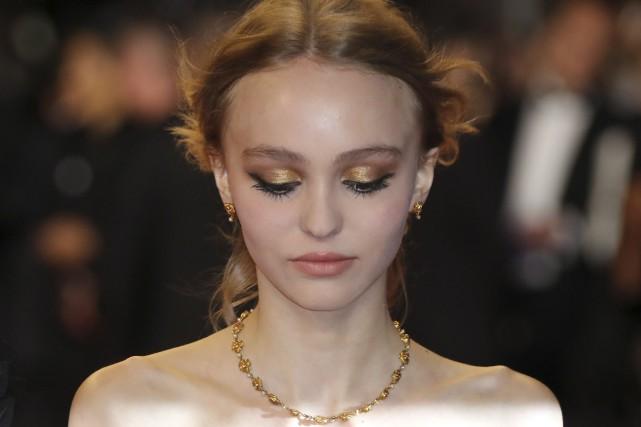 Lily-Rose Depp, 16 ans, incarne Isadora Duncan dans... (AFP, Valerie Hache)