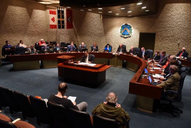 Le conseil municipal de Trois-Rivières.... (François Gervais)
