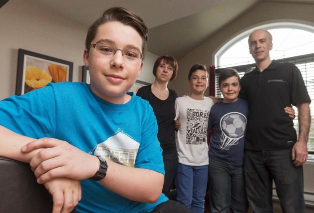 Anthony Lebrun vit avec le diabète de type... (Spectre Média, Frédéric Côté)