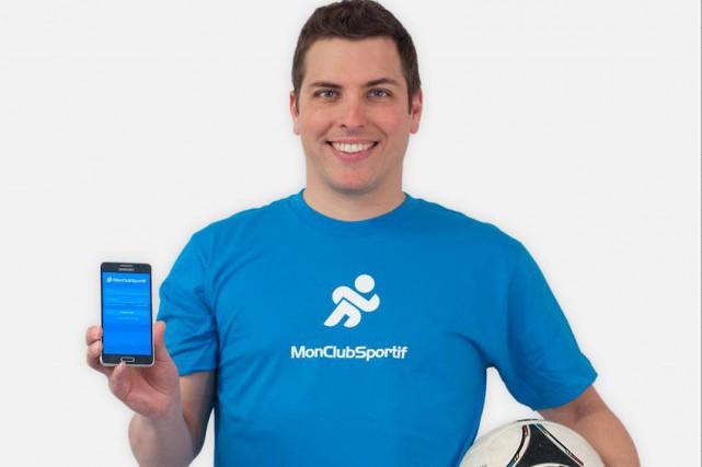 Karl Demers, fondateur de MonClubSportif... (Photo fournie par MonClubSportif)