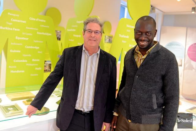 Pierre Markowski, ancien directeur du bureau de Dakar... (Le Soleil, Erick Labbé)
