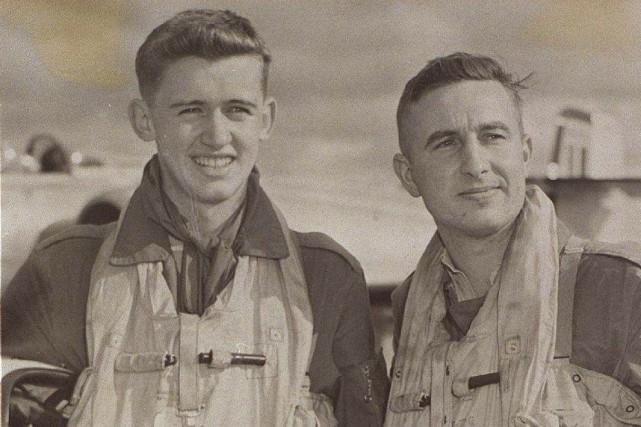 Le navigateur Kenneth D. Thomas et le pilote... (Courtoisie, Ottawa Citizen)