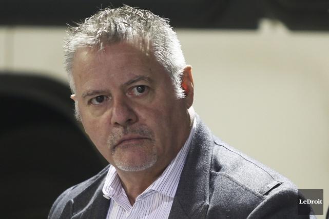Le président de la STO, Gilles Carpentier... (Etienne Ranger, LeDroit)