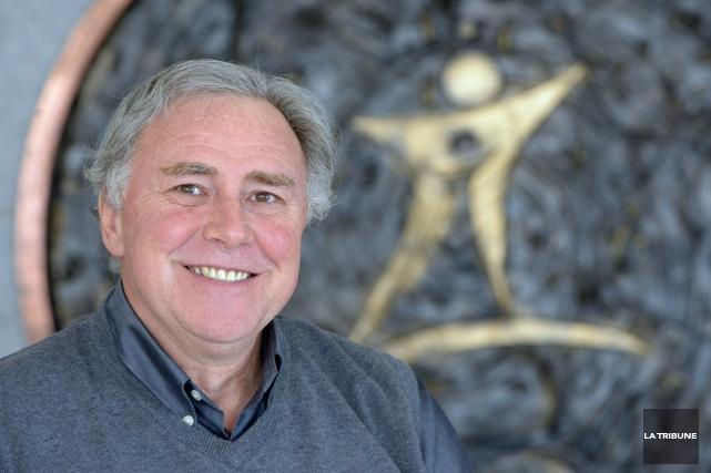 Gilles Normand, président de la Commission scolaire de... (Archives, La Tribune)