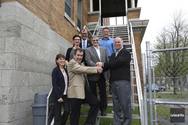 Le nouveau gymnase de l'école St-Romuald est l'aboutissement... (Julie Catudal, La Voix de l'Est)
