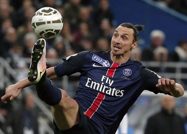 Zlatan Ibrahimovic a été fidèle à son personnage... (AP, Thibault Camus)