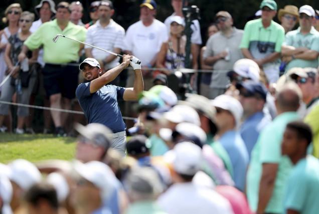 Jason Day n'a pas déçu les nombreux spectateurs... (AFP, Richard Heathcote)