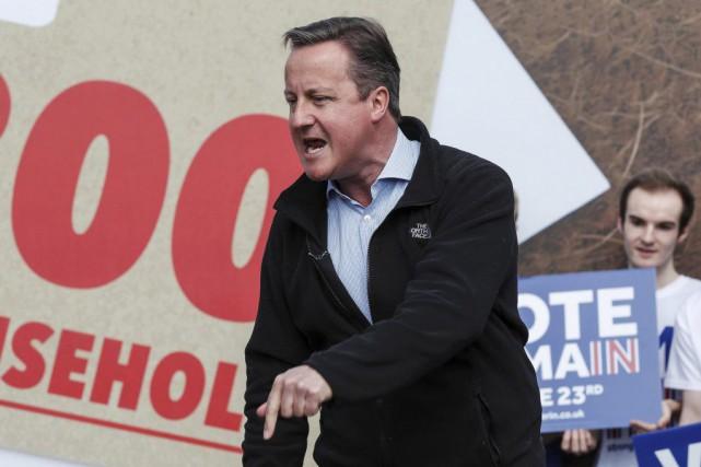 Le premier ministre conservateur David Cameron a fait... (PHOTO EDDIE KEOGH, AFP)