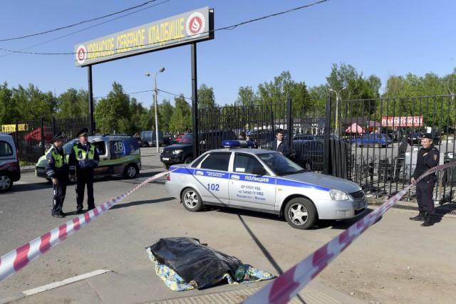 Selon les médias russes, les affrontements au cimetière... (PHOTO VASILY MAXIMOV, AFP)