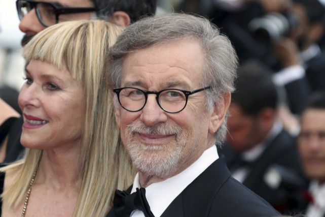 L'Américain Steven Spielberg a réservé au Festival de... (AFP, Valery Hache)