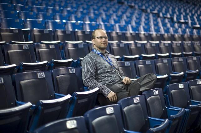 Pier-Luc Nappert a travaillé pour les Capitales de... (La Presse Canadienne, Chris Young)