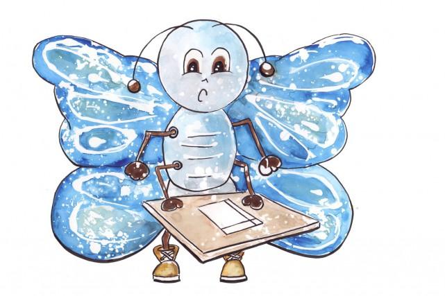 Marie-Line Duchesne a créé des insectes pour dynamiser... (Photo courtoisie)