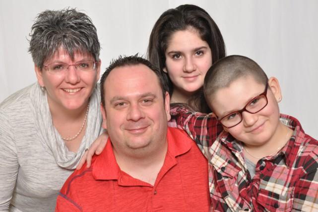 La famille de Mélyna Bélanger sera la vedette... (Photo courtoisie)