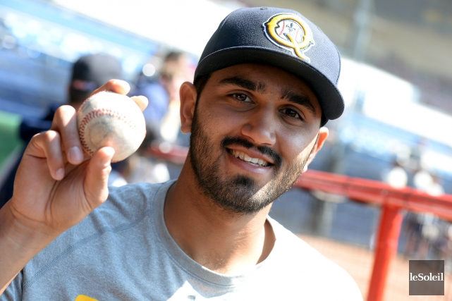 Jasvir Rakkar (2-0) a muselé les frappeurs des... (Le Soleil, Erick Labbé)