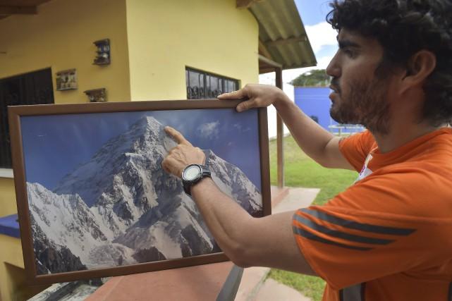 Santiago Quintero compte affronter le K2 pour la... (Agence France-Presse)