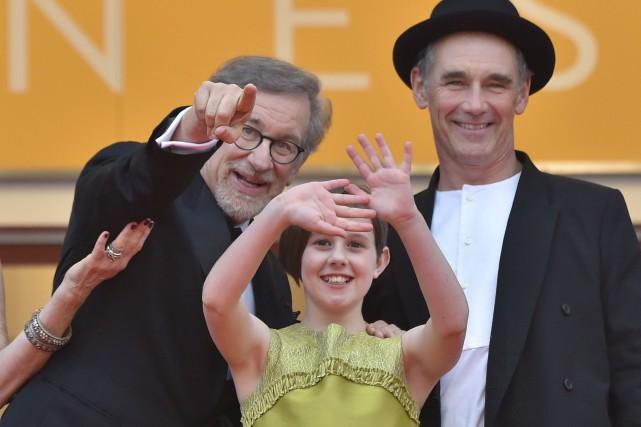 Le grand réalisateur américain Steven Spielberg revenait sur... (Agence France-Presse)
