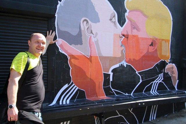 Le propriétaire du restaurant, Dominykas Ceckauskas, a expliqué... (Photo AFP)