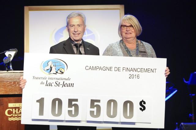 Le responsable du comité local de financement, Denis... (Photo Le Progrès-dimanche, Gimmy Desbiens)