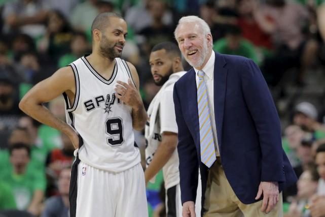 Depuis que Gregg Popovich est devenu l'entraîneur des... (Associated Press)